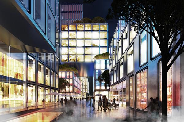 Public boulevard © gmp Architects
