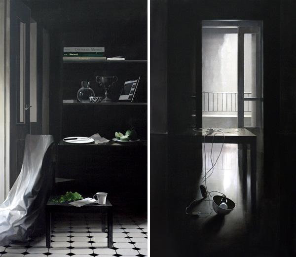עבודות מתוך התערוכה, סימון אדג