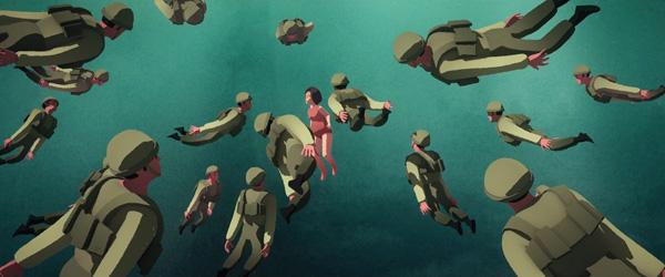 רותם שפירא, כולם כל כך שקטים פתאום, אנימציה 6 דק