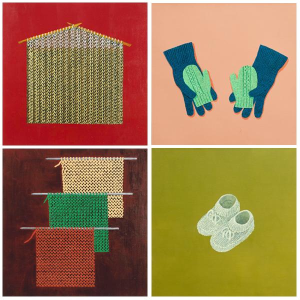 עבודות מתוך התערוכה, דינה שצ
