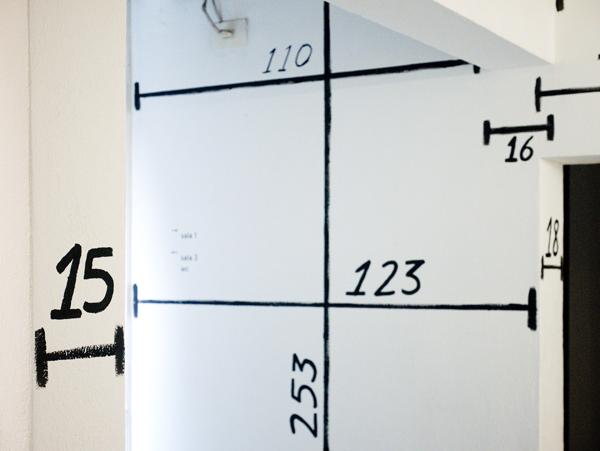 כאשר מביטים במידות, מתקבלות פרופורציות חדשות לגודלו של המבנה, צילום:  joão nitsche