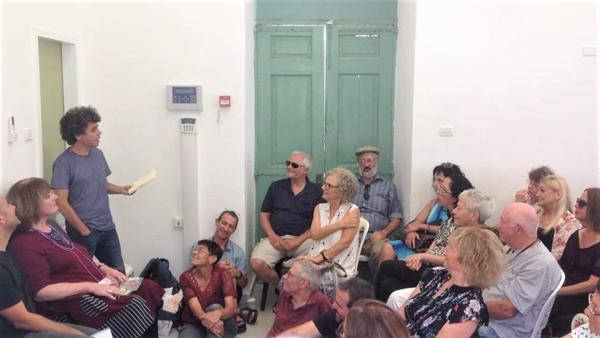 אירוע שירה במוזאון הנגב, מלא עד אפס מקום, באדיבות המוזאון