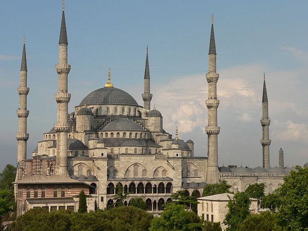 המסגד הכחול, איסטנבול, טורקיה, צילום דויד ספנדר