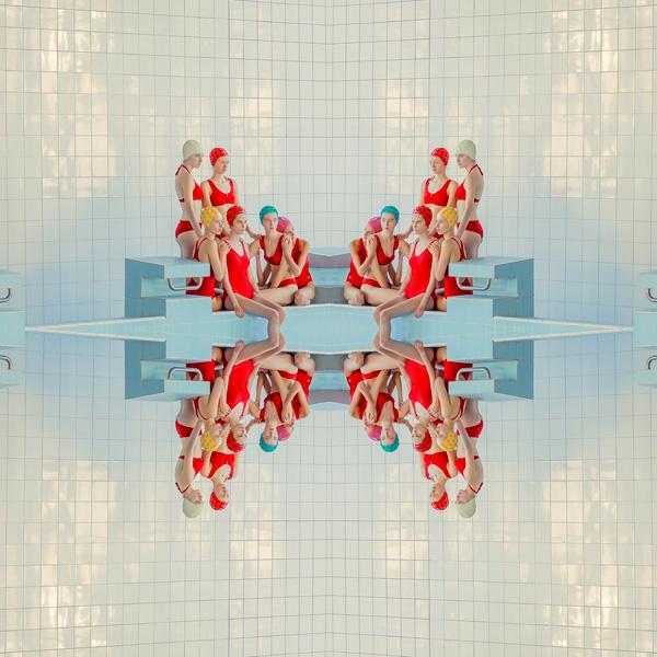 עבודה של מריה סברבובה מתוך התערוכה, צילום