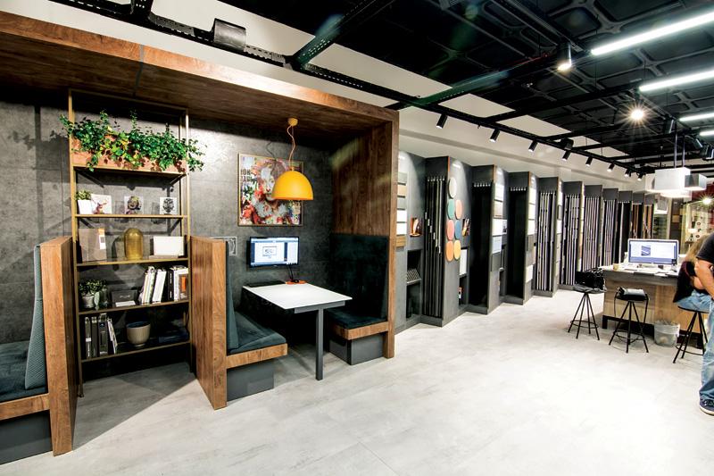 סניף קונספט חדשני וייחודי ובוספריית החומרים של בלורן, צילומים באדיבות: בלורן