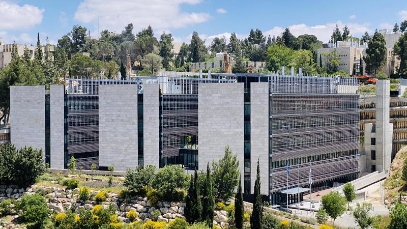 המכון הגיאולוגי ומכון הסיסמולוגי, צילום באדיבות : מדיה - קומפס