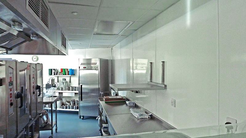 חיפוי קירות היגייני אנטי בקטריאלי , צילומים באדיבות פלרם.