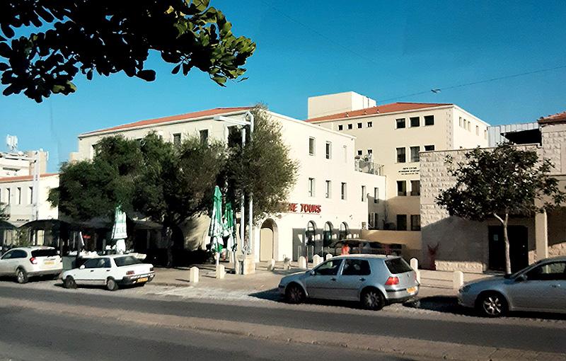 בית הקשתות בחיפה, צילום: אדריכל נתי רותם.