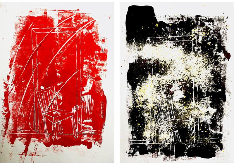 Mobius Obvius - הדפסים מתוך התערוכה, דימויים בדיבות גלריה אלפרד