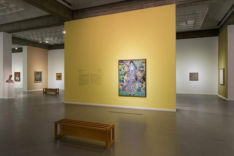 Permanent Exhibition of Modern Art Installation View- Mizne-Blumental Collection-Photo by Elad Sarig