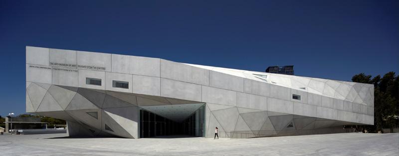 Tel Aviv Museum of Art- Herta and Paul Amir Building- Photo by Amit Geron