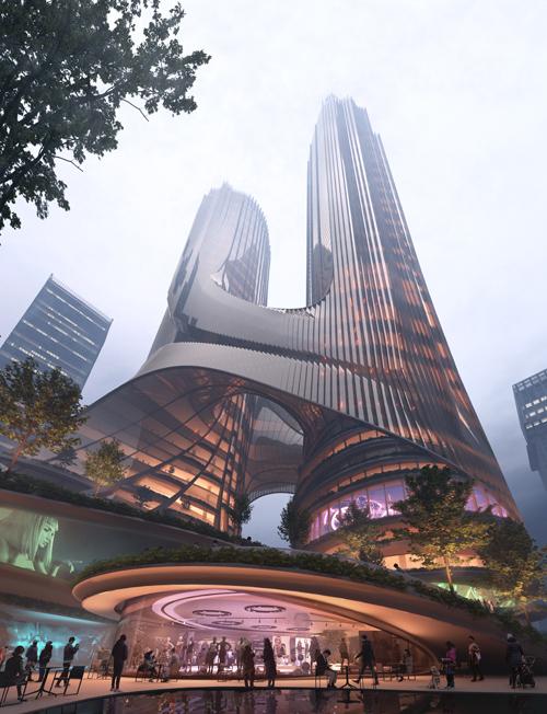 Copyright © Zaha Hadid Architects.