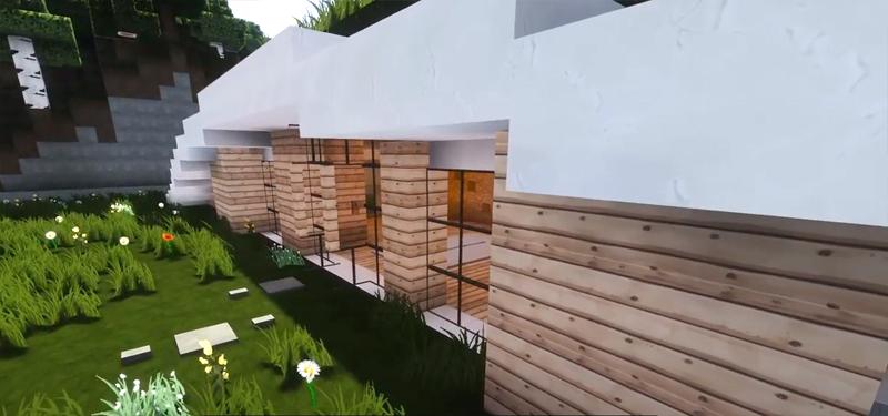 צילום מסך מתוך ערוץ היוטיוב akirby80, בית מודרני תת קרקעי BIOF429