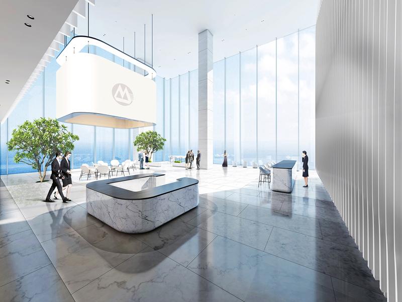 Sky lobby, CREAT AR IMAGES