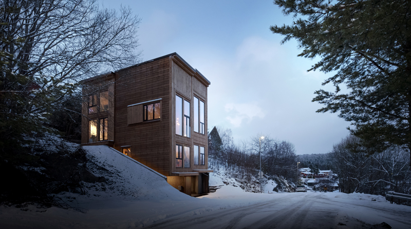 Photo: Tom Auger, Architects: Rever & Drage Architects