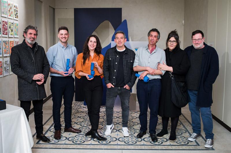 זוכי וחברי ועדת השיפוט פרס אדמונד דה רוטשילד לעיצוב 2020, קרדיט צילום: אמנון חורש