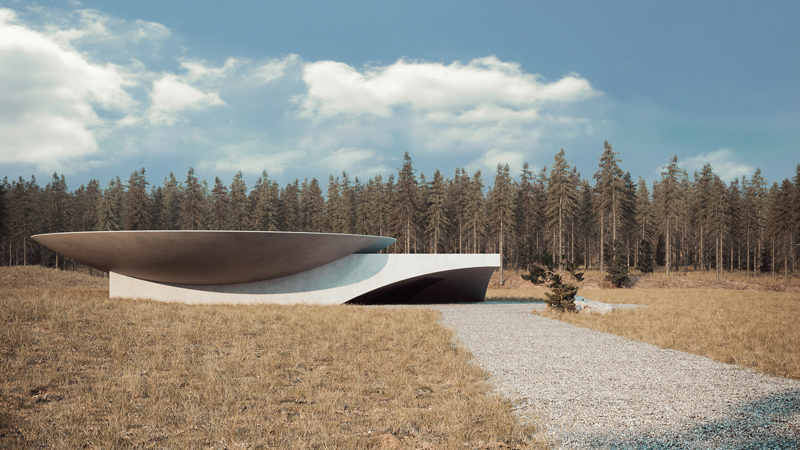 Architecture, Image and concept by Makhno Studio