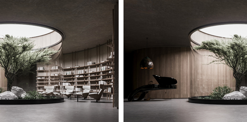 Living room, Image and concept by Makhno Studio