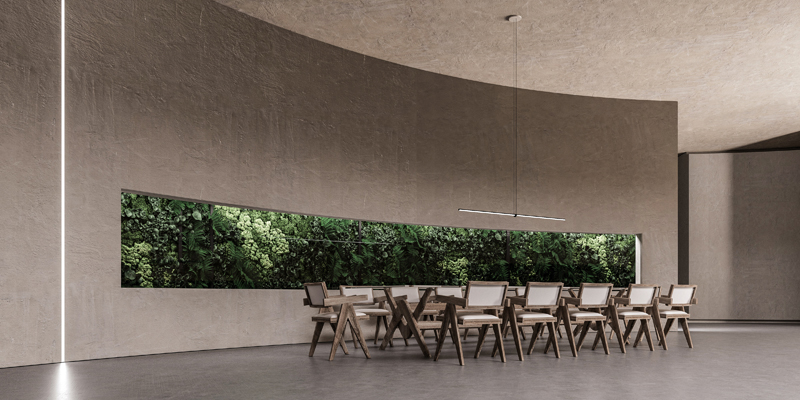 The dining room, Image and concept by Makhno Studio