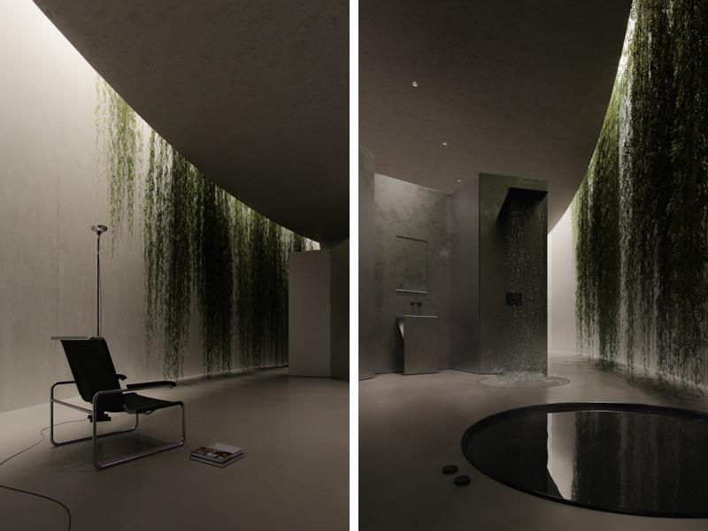 צמחיה שאיננה זקוקה לאור. אדריכלות, הדמיה וקונספט :סטודיו מקנו