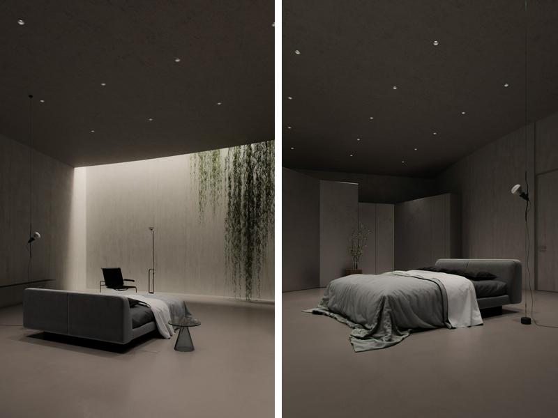 חדר שינה שני. אדריכלות, הדמיה וקונספט :סטודיו מקנו