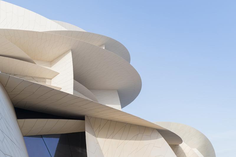 המוזיאון הלאומי של קטאר שתוכנן על ידי ז