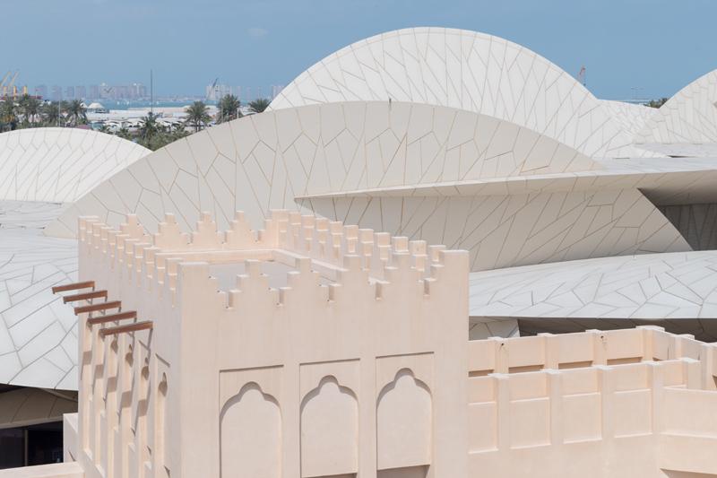הארמון ההיסטורי, מוזיאון הלאומי של קטאר שתוכנן על ידי ז