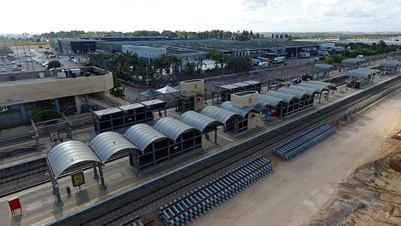 רכבת אשקלון , לוח פוליגל רב שכבתי בעובי 10 מ
