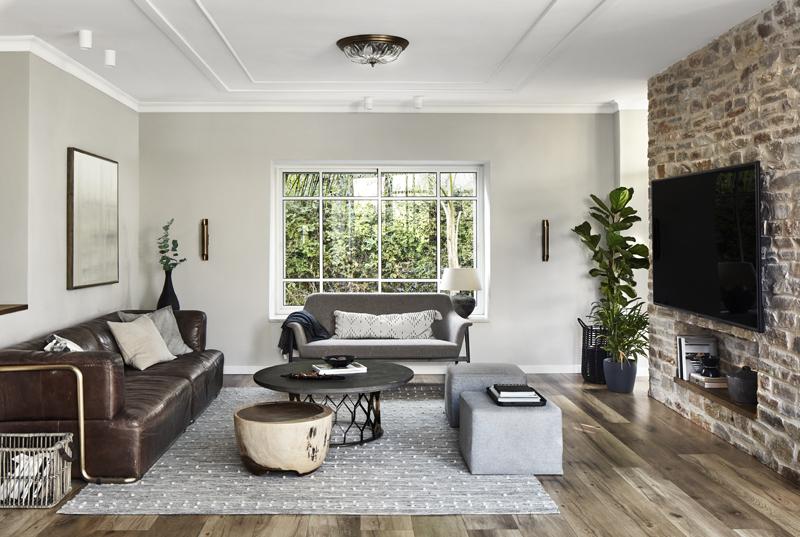 מבט לסלון הבית, צילום: שי גיל - צילום אדריכלות