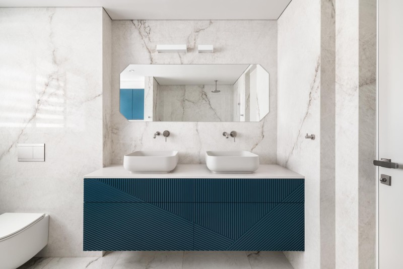 חדר רחצה ראשי, קרדיט צילום: יואב פלד צילום אדריכלות