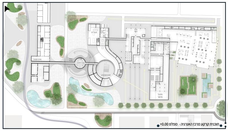 תוכנית קרקע בינוי חדש בתחנה, קרדיט: לידור מזרחי