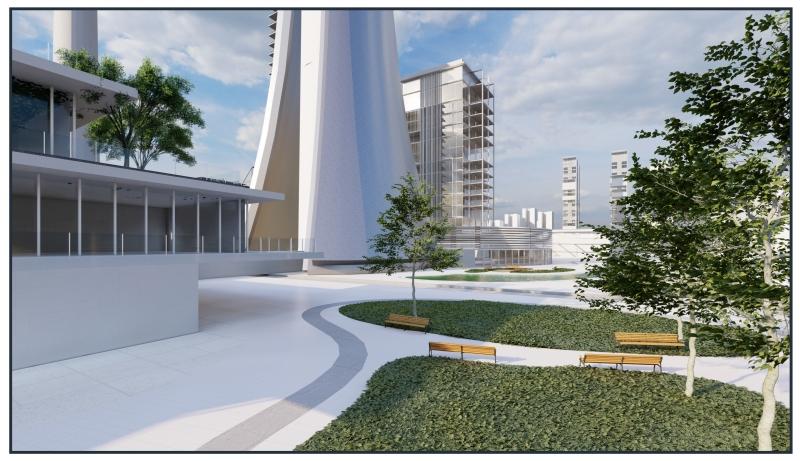 מבנה הארובה החדש, קרדיט: לידור מזרחי