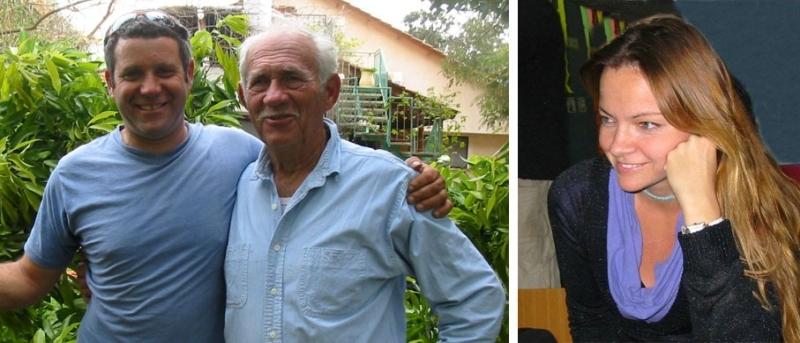 מימין: ענת תמרי,צילום ביתי. משמאל: דוד וברק תמרי, צילום ביתי.