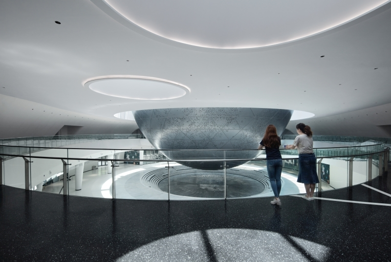 Shanghai Astronomy Museum. Photograph Credit: ArchExists