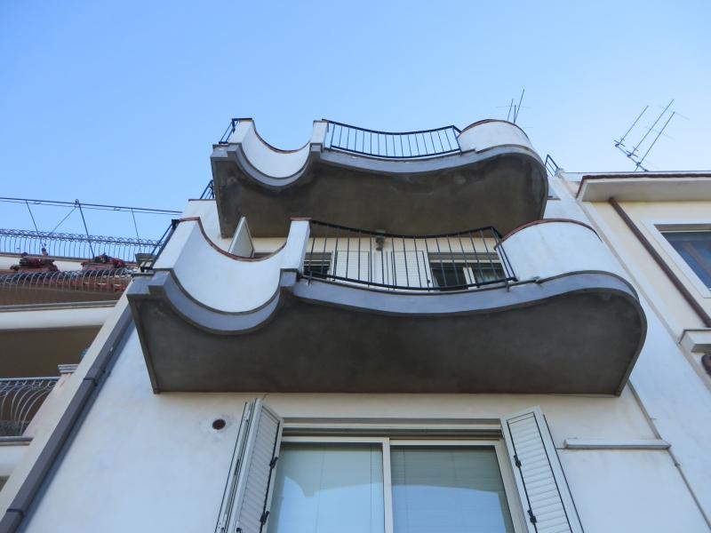 ממחקר באסתטיקה של מרפסות וחזיתות. סיציליה. קרדיט צילום: ד