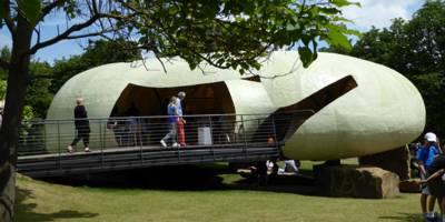 הצהרות אדריכליות בביתן הזמני של גלריה סרפנטיין- השראה יומית