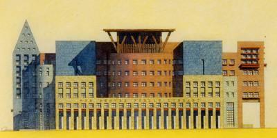 אדריכלות והאמנות האבודה של השרטוט, מאת: מייקל גרייבס, פרינסטון NJ