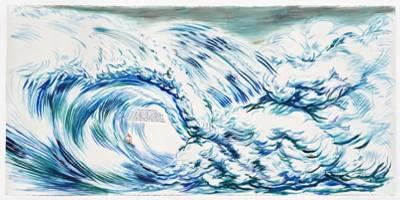 הצד האפל של אמריקה בתערוכת יחיד של האמן ריימונד פטיבון