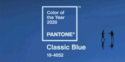 חברת פנטון הכריזה על כחול קלאסי כצבע הנבחר לשנת 2020