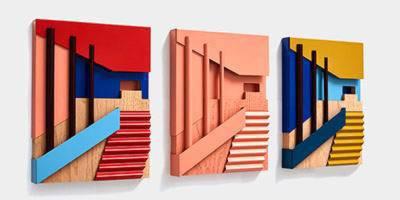המעצבת הבריטית שיוצרת אסמבלאז מודרניסטי מחללים, ארכיטקטורה וצבע
