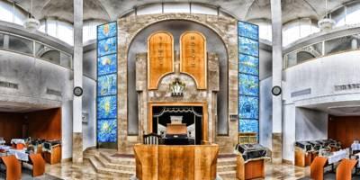 פתיחת ההיכל - עיצוב ואדריכלות בתי כנסת בישראל
