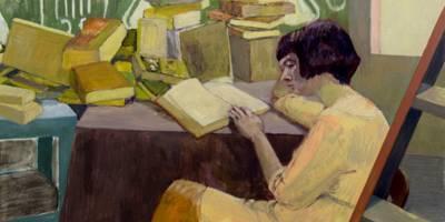 ציור המעביר חוויה שלא ניתן לתארה במילים בתערוכה חדשה