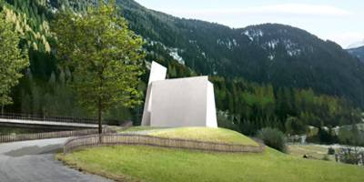 SEEING THROUGH THE EAR – a motorway chapel near andeer, switzerland