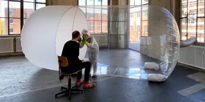 מרחב מוגן מתנפח לרופאים | השראה יומית