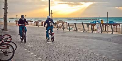 עד שנת 2025 יוכפל אורכם של שבילי האופניים ברחבי תל אביב