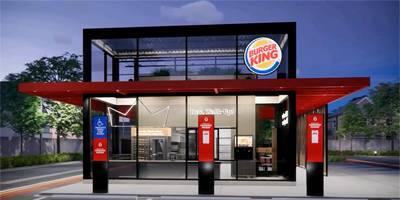 רשת ברגר קינג חושפת את עיצוב מסעדת העתיד | השראה יומית