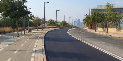 פיילוט ראשון מסוגו בארץ - התקנת כביש חשמליברמת אביב