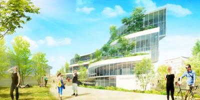 הצעה לתכנון בית ספר לאדריכלות עש עזריאלי באוניברסיטת תל אביב | חשיפת אדריכלים