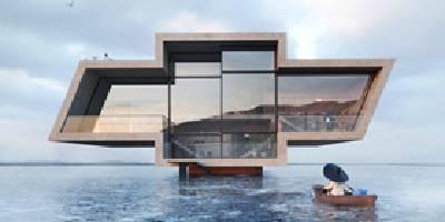 מה קורה כאשר לוגו מסחרי הופך למבנה ארכיטקטוני | השראה יומית