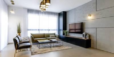 לדבר אל הקירות - הצצה לדירת פנטהאוז עם חיפויי קיר